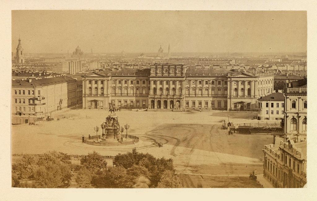 Дворец Великой княгини Марии Николаевны. 1871—1874