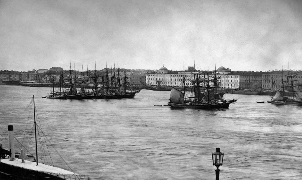 Вид на Неву. 1895