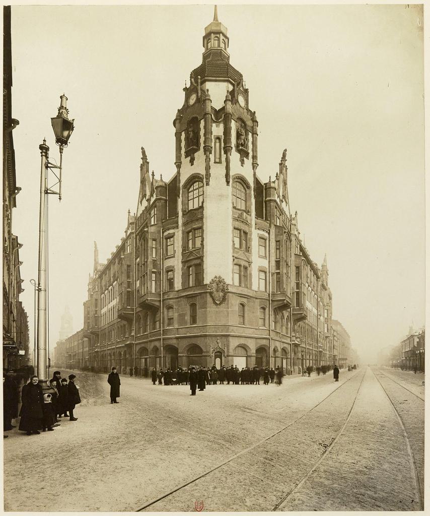 Дом городских учреждений. 1909