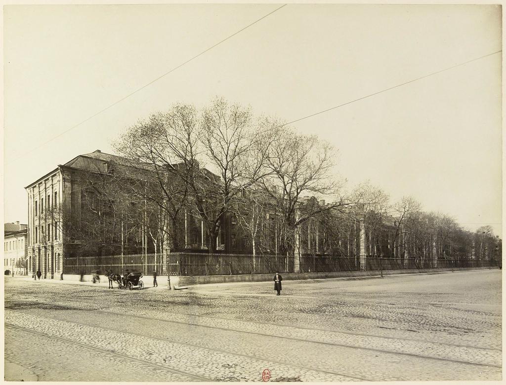 Императорский университет. 1908