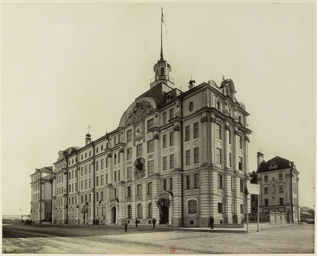 Училищный дом Императора Петра I. 1910-е