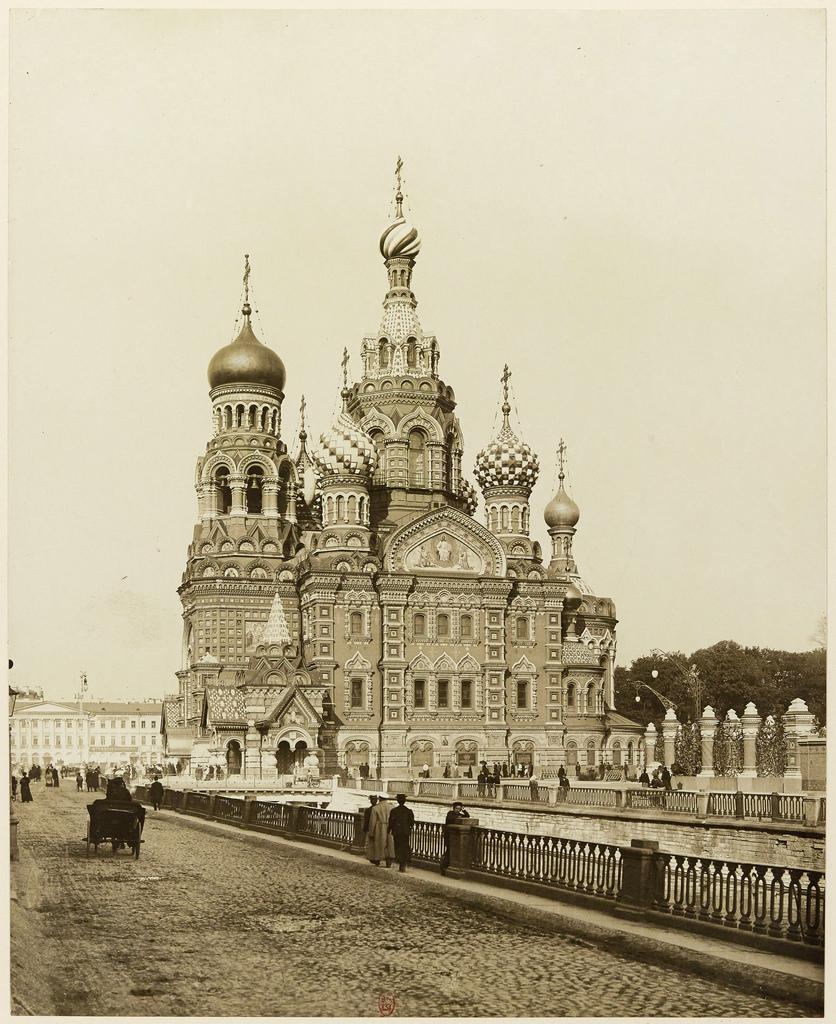 Храм Спаса-на-Крови. 1907