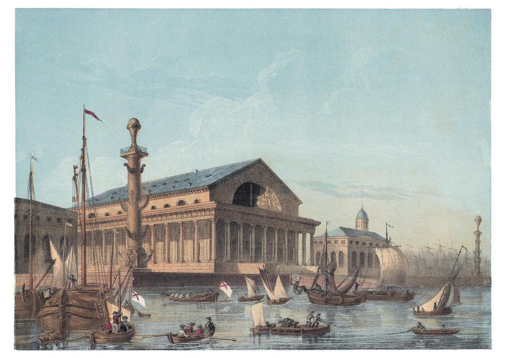 1830. Биржа