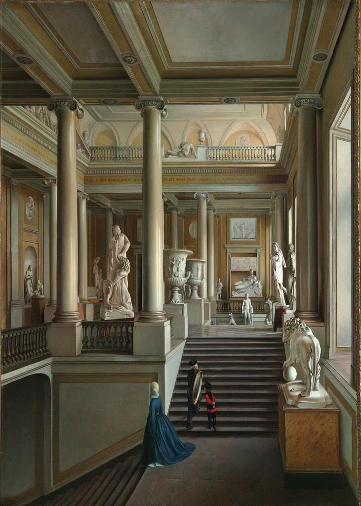1830. Парадная лестница Академии Художеств