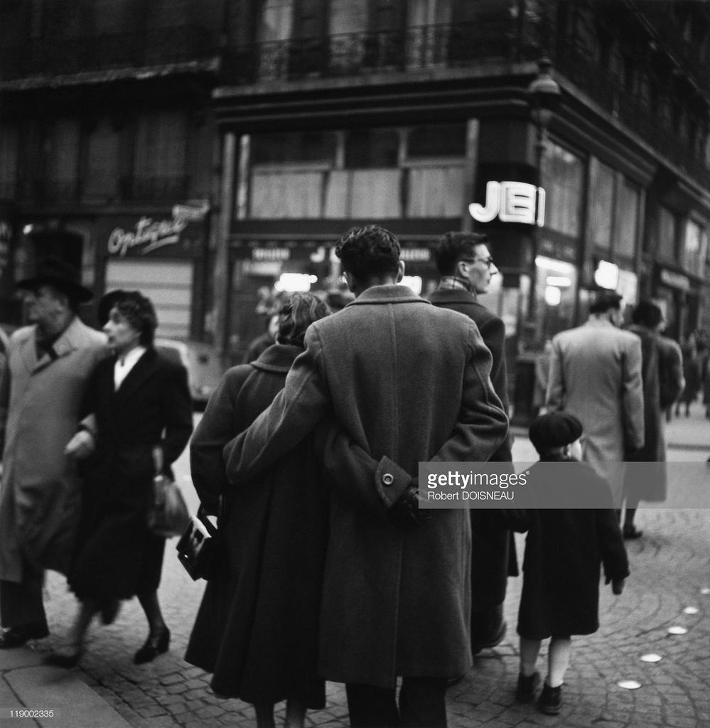 1953. Влюбленные, Париж