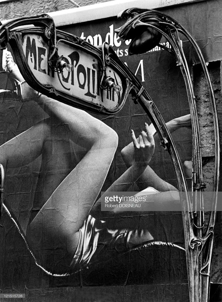 1971. Ноги Метрополитена, Париж
