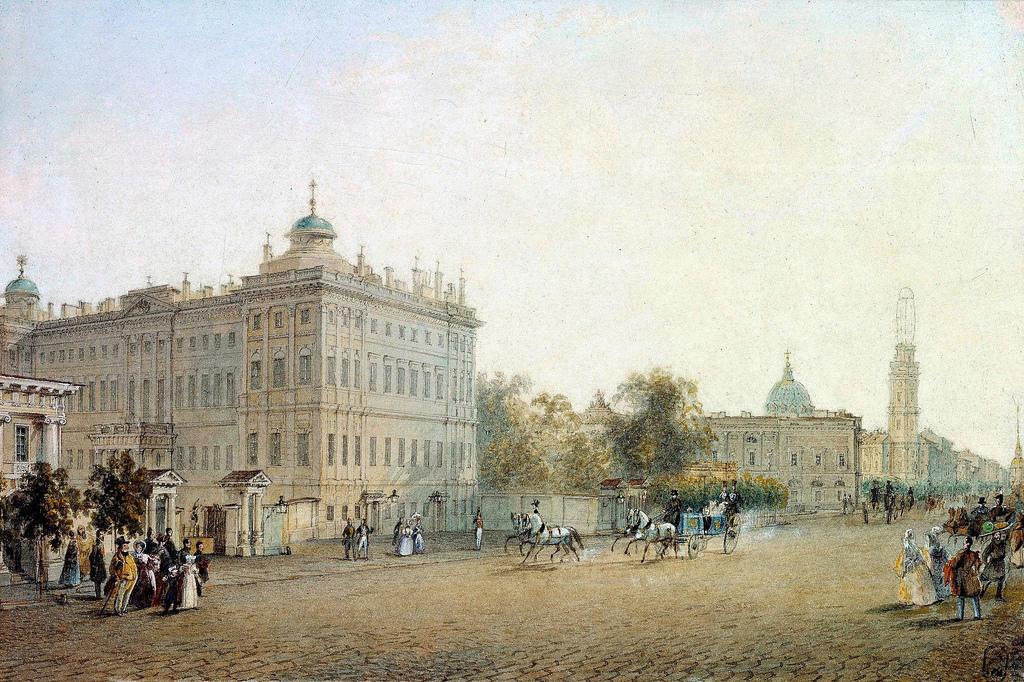 1830-е. Аничков дворец