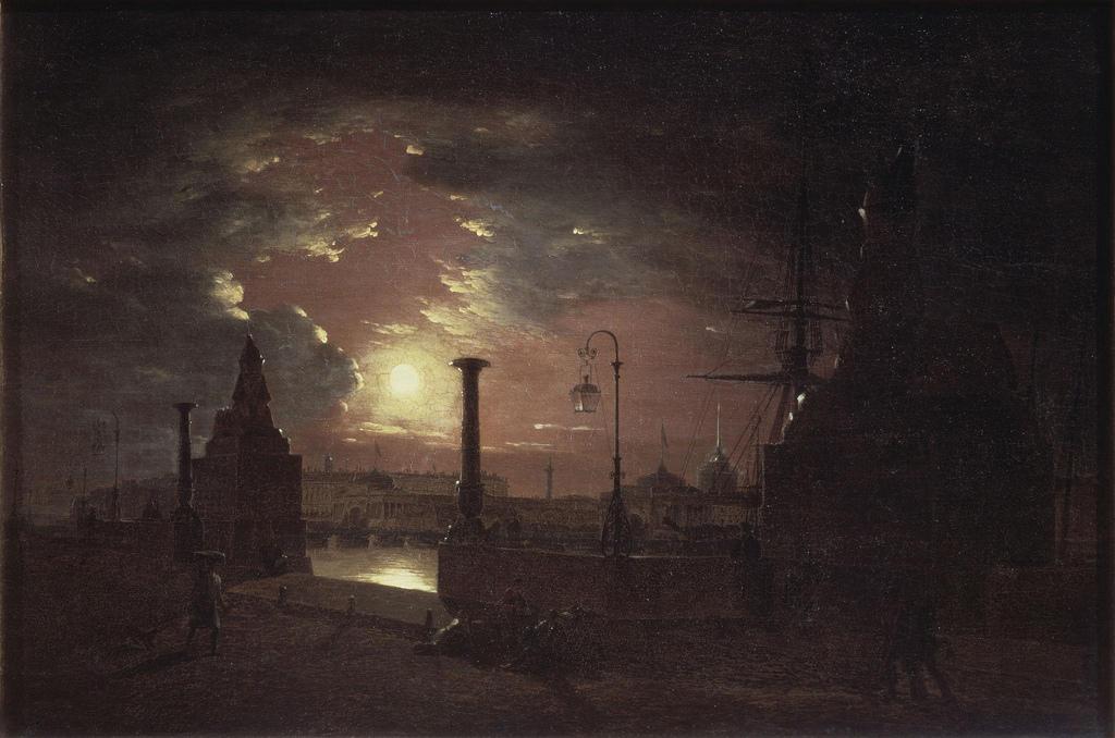 1835. Осенняя ночь в Санкт-Петербурге