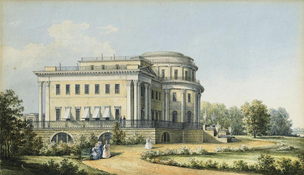 1839. Елагин дворец