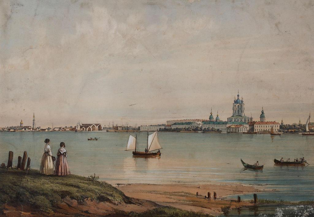 1840. Вид города