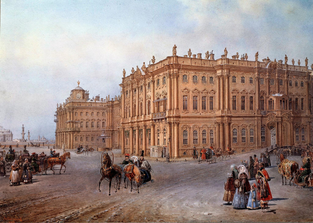 1843. Зимний дворец