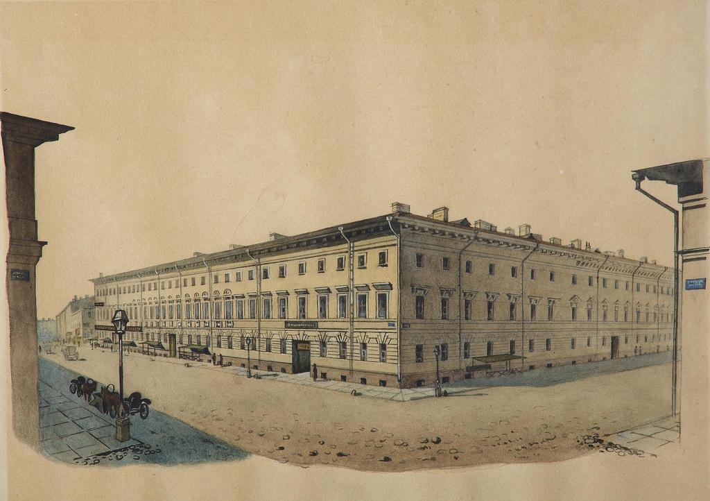 1862. Дом на Садовой улице