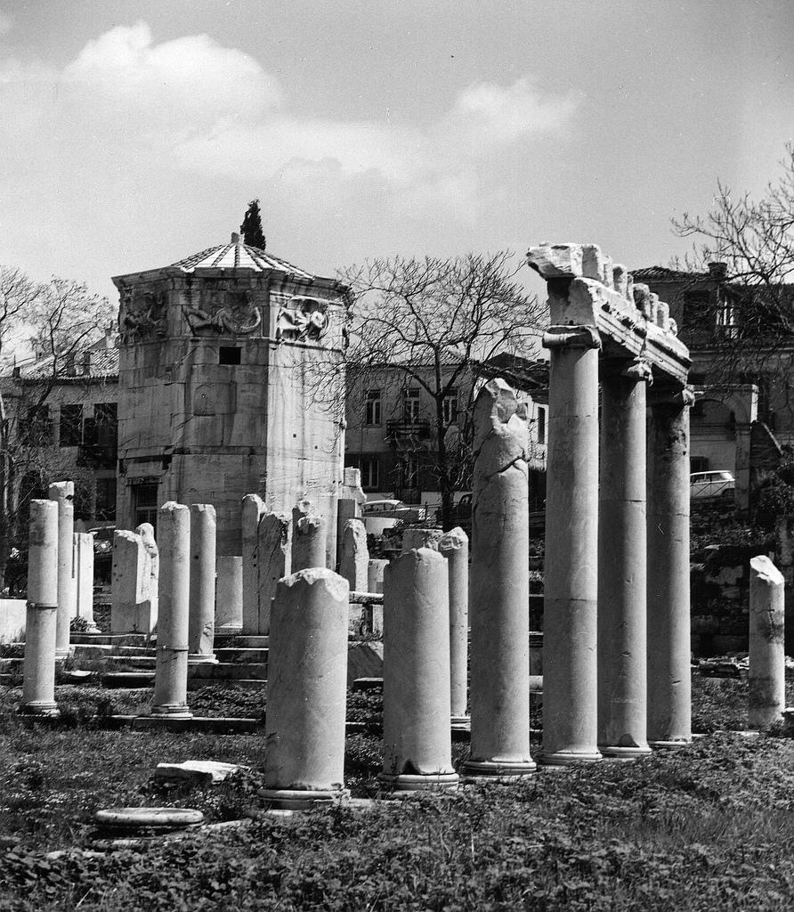 Римская Агора. Вид с Башни Ветров