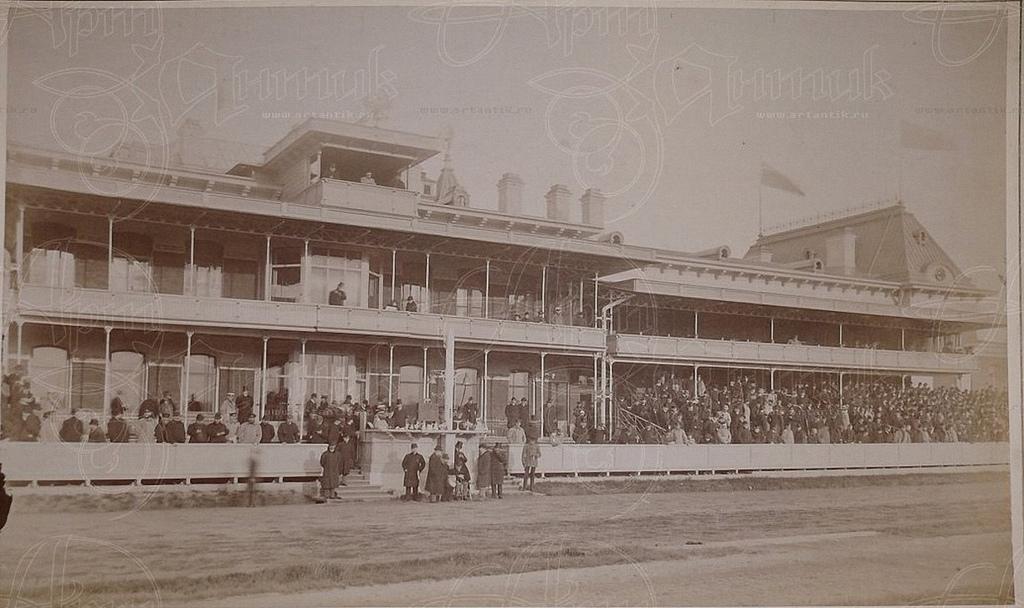 1895. С.Петербург. Ипподром и Беговая беседка (4)