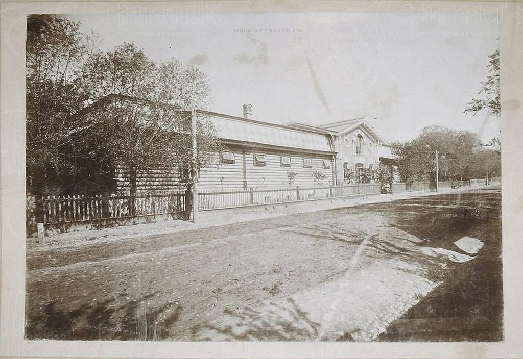 1900-е. Конюшня Н. С. Клецких. Наружный фасад