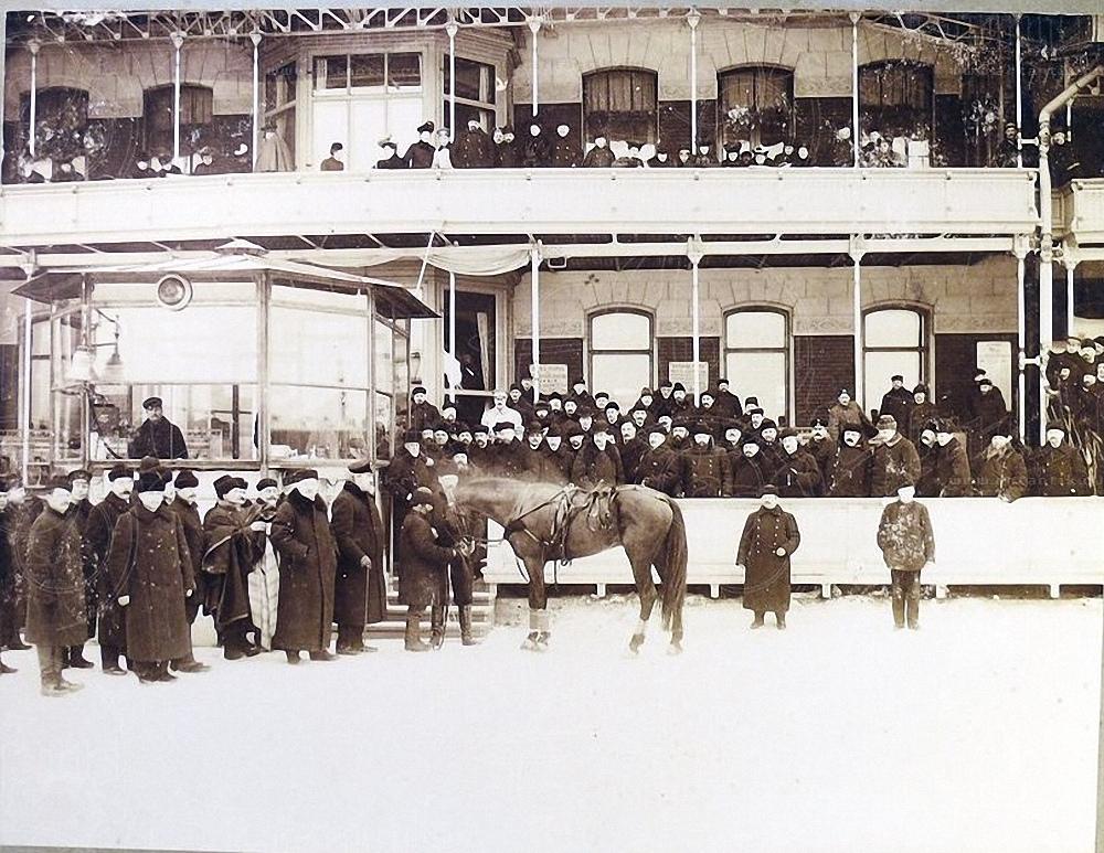 1904. Санкт-Петербургский ипподром. Жеребец Барон С.