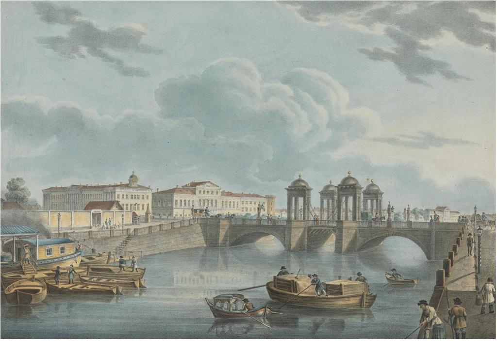 Вид на Фонтанку с Обуховского моста