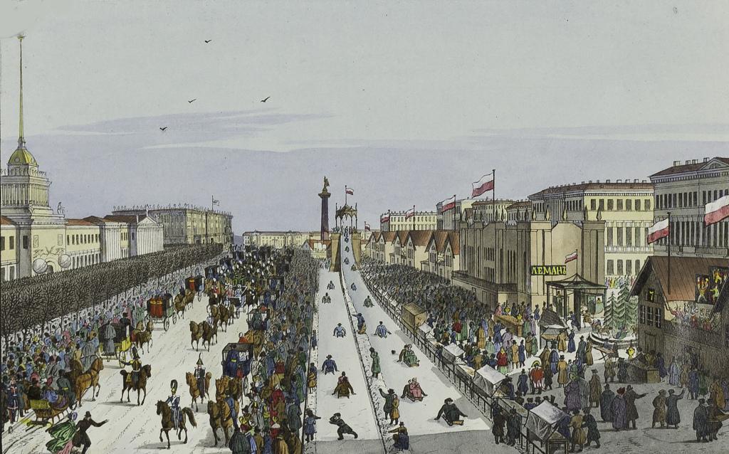 Масленица на Адмиралтейской площади
