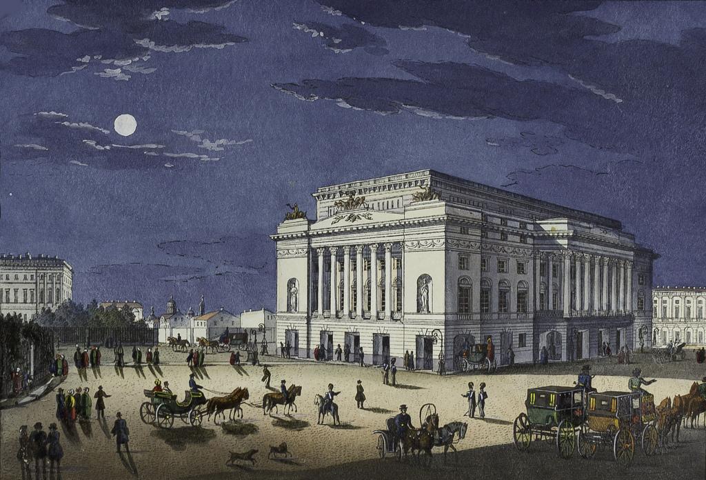 Новый Александринский театр. 1832—1842