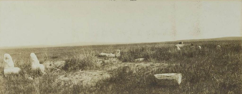 02. Кошо-Цайдам. Стела и статуя Бильге-кагана.  12 июля