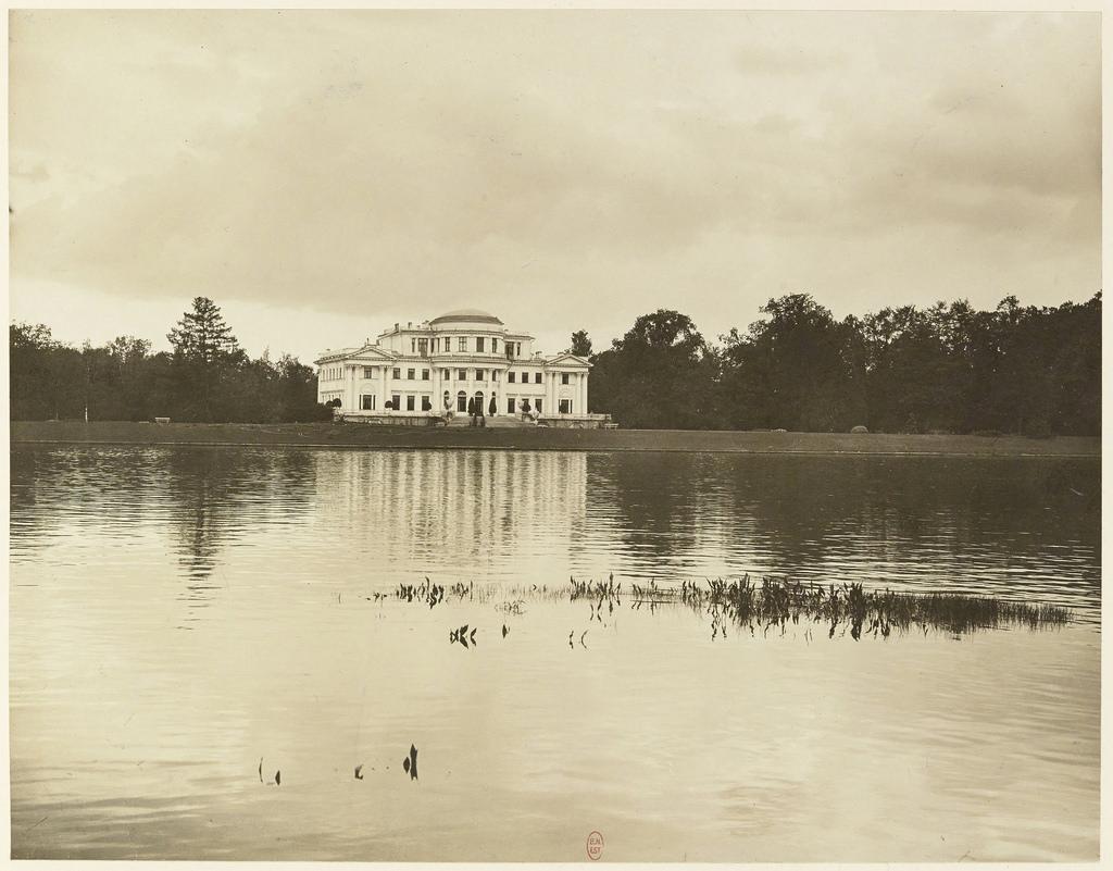 Елагин дворец. 1906