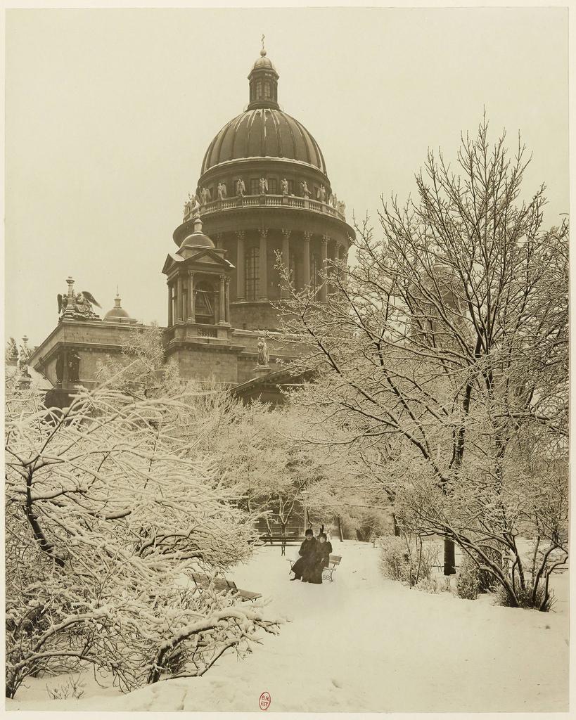 Исаакиевский собор. 1900-е