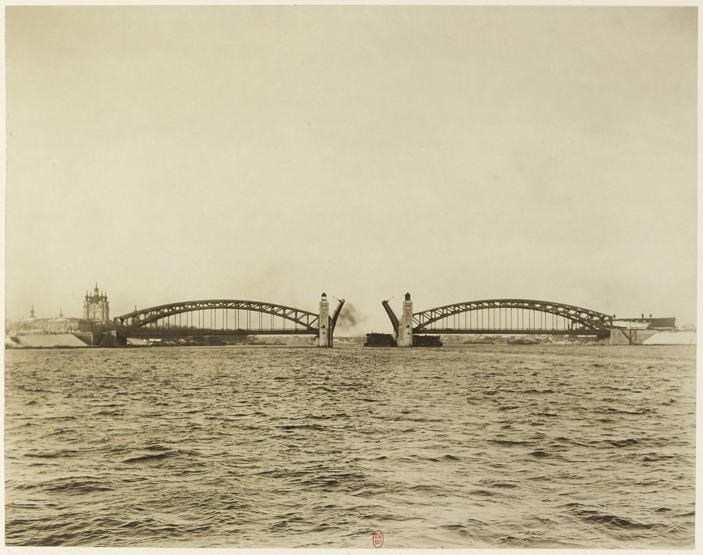 Мост императора Петра Великого. 1911