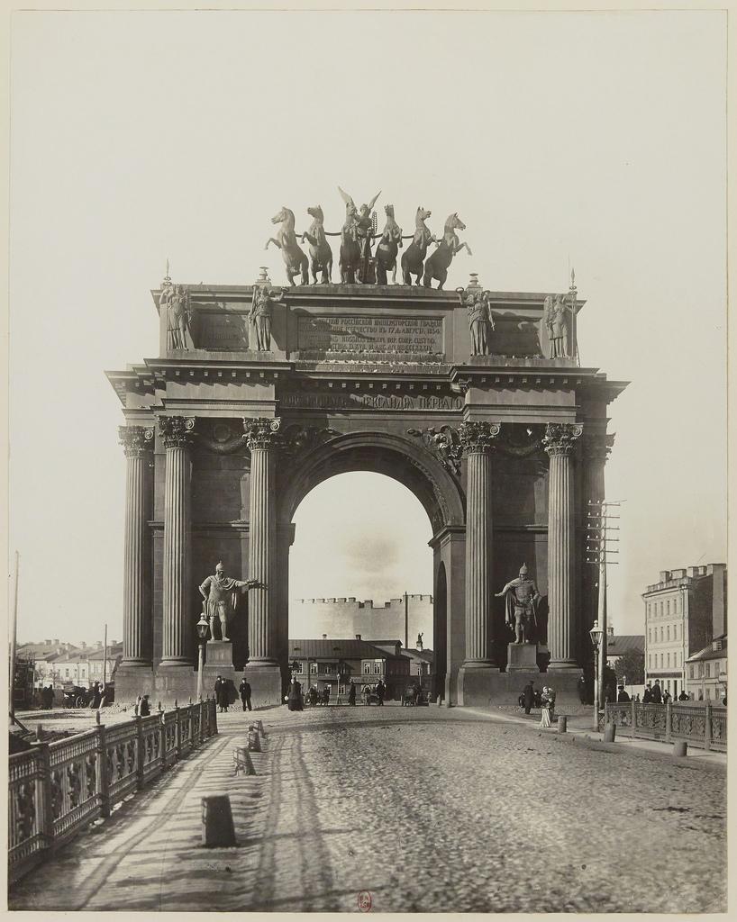 Нарвские ворота. 1903