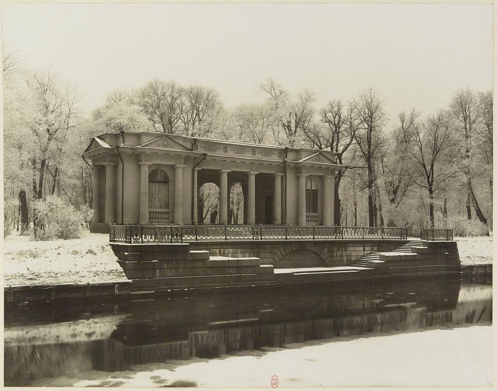 Садовый павильон Михайловского дворца. 1913