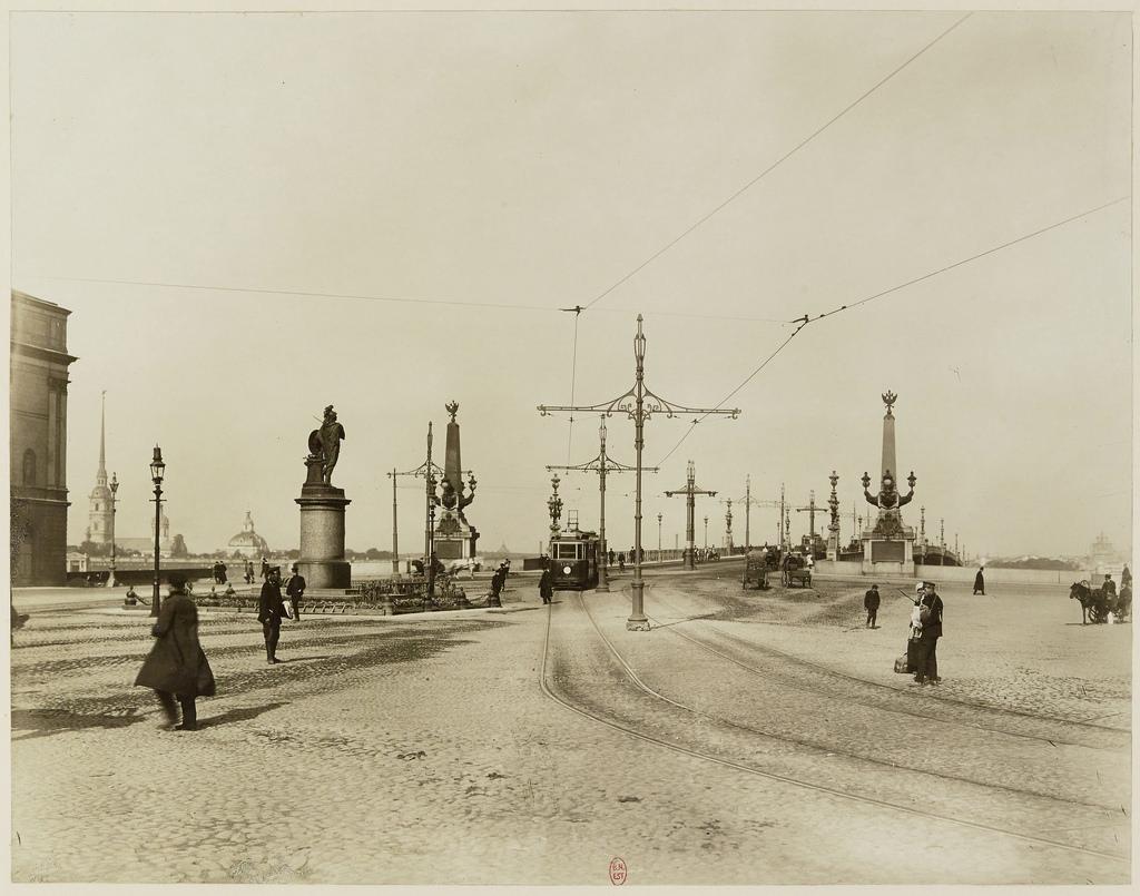 Суворовская площадь. 1911