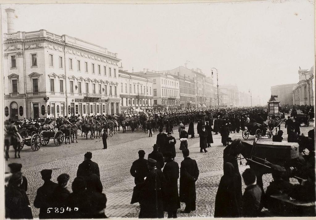 Шествие на Невском проспекте. 1905