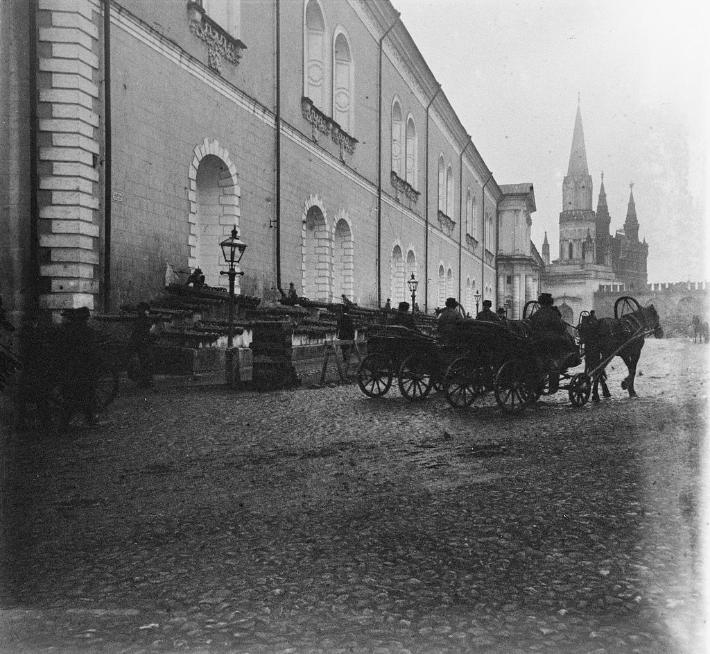 Кремль. Арсенал. 1902
