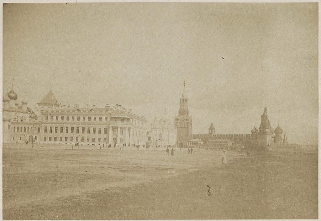 Царская (Ивановская) площадь. 1887