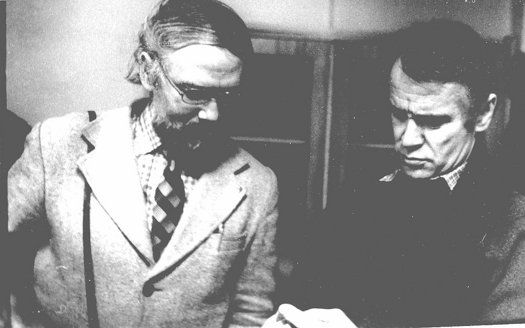 1984. Семён Кессельман, Валентин Вихорев. 18 декабря