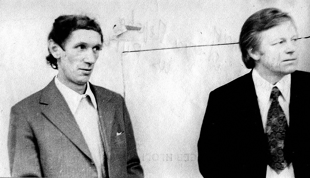 Вячеслав Цветков и Борис Полоскин