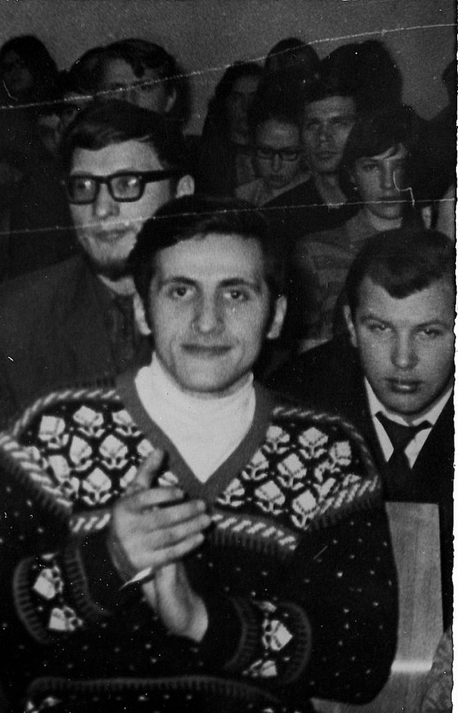 Михаил Атлас, слева-Борис  Диордиященко из Колпино