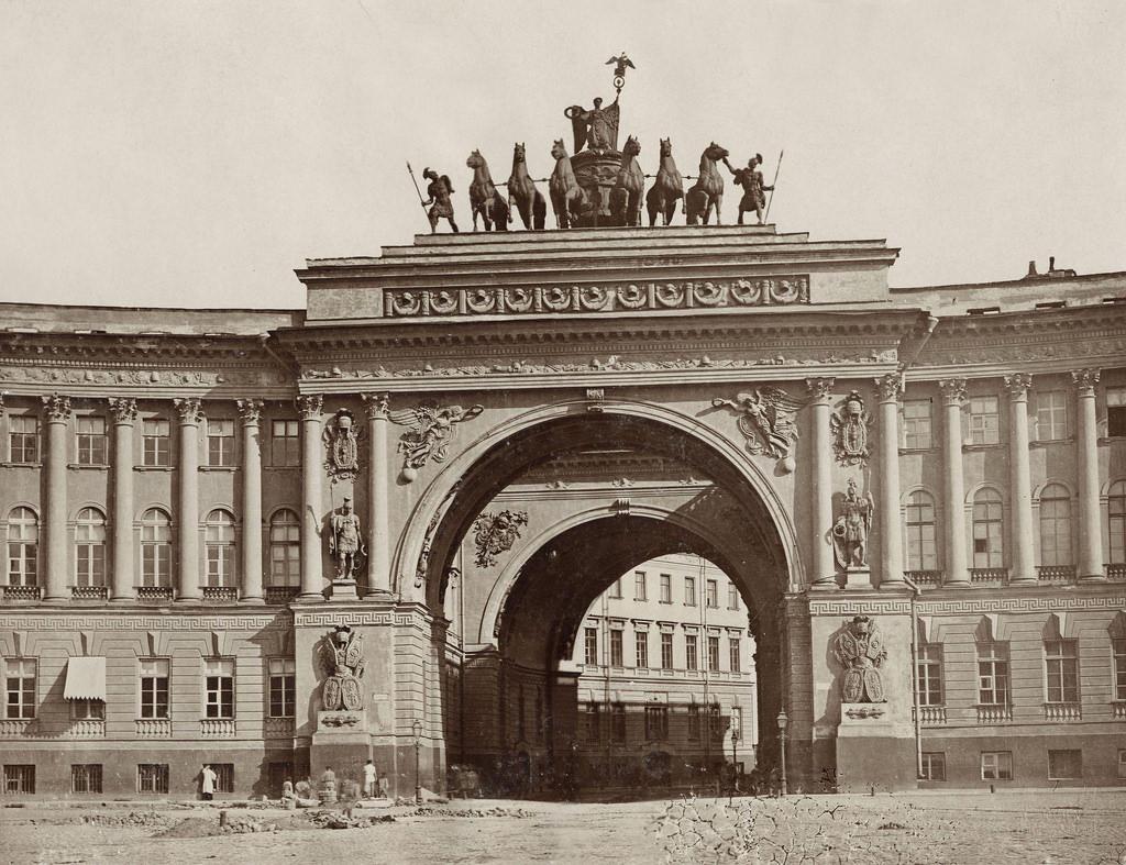 Арка Главного штаба. 1880-е