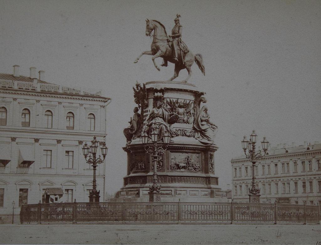 Памятник Николаю I. 1864