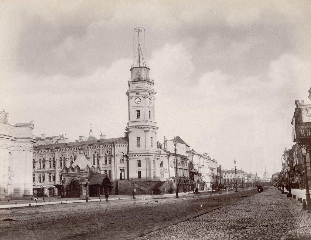Здание Городской Думы. 1880-е