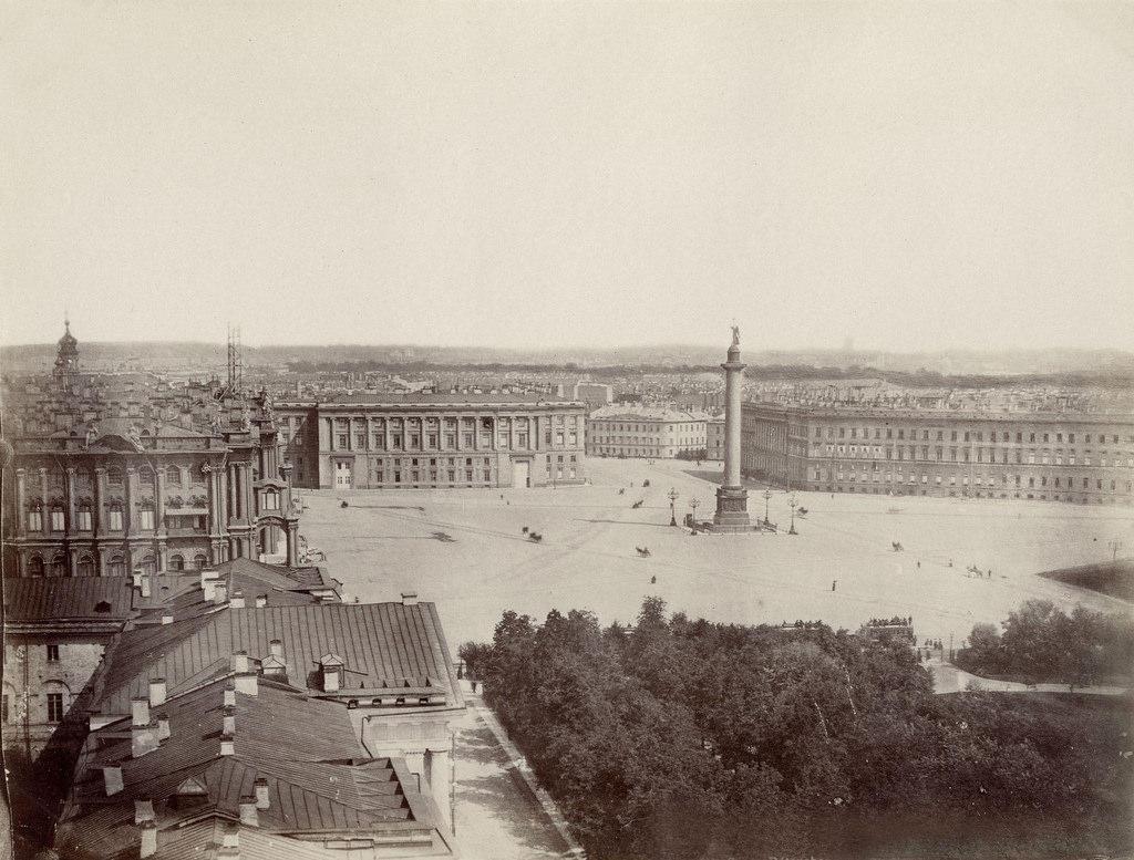 Дворцовая площадь. 1870-е