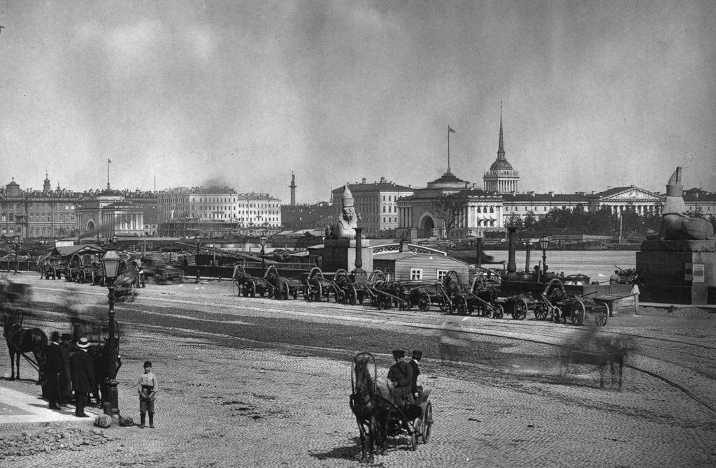 Вид на Неву и Николаевский мост. 1900-е
