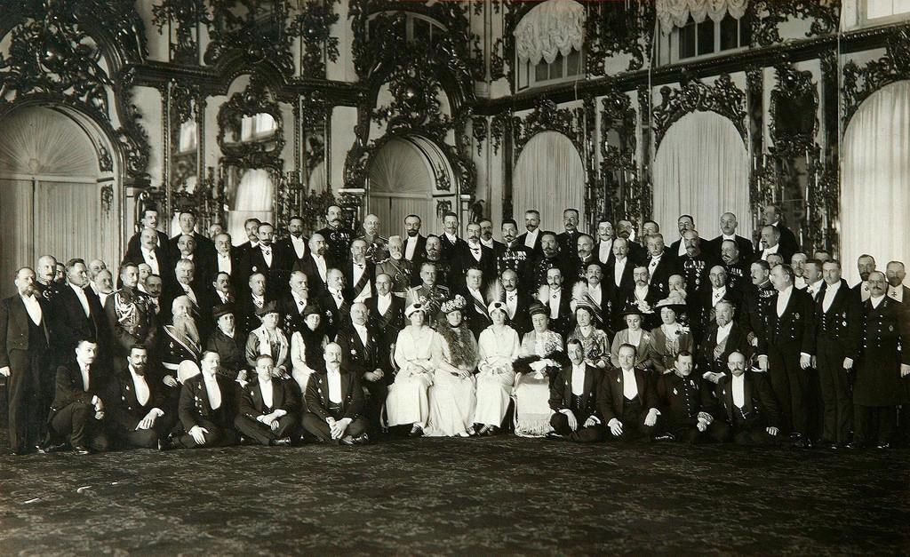 Заседание комитета великой княгини Татьяны Николаевны