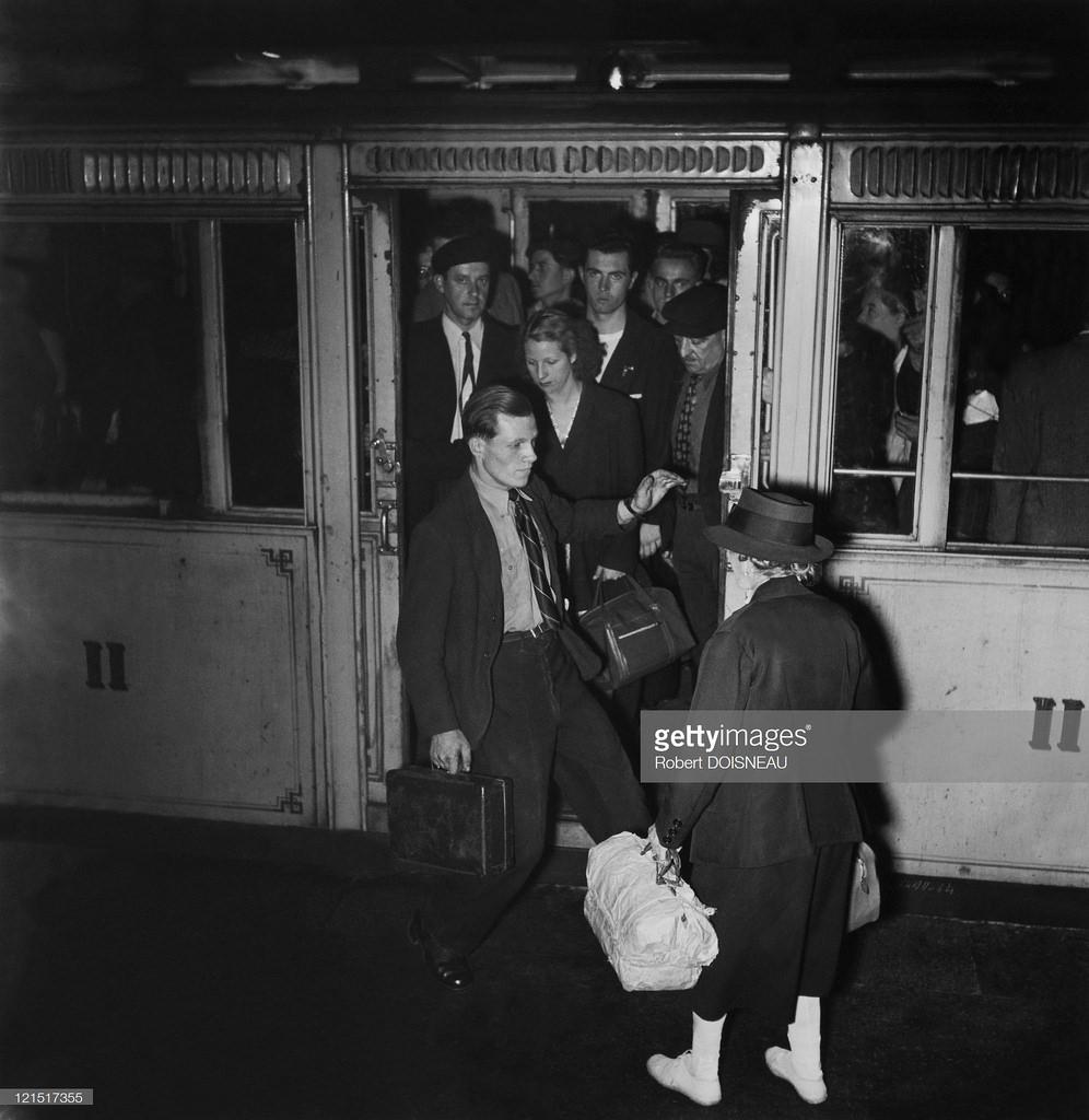 1945. В метро