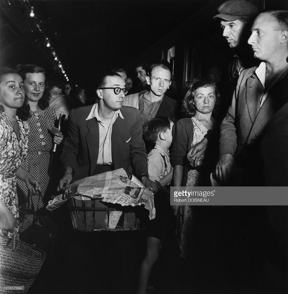 1950-е. В метро