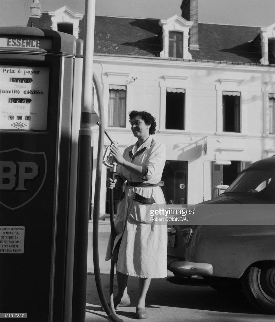 1950-е. На заправке