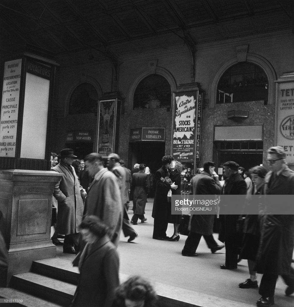 1950. Вокзал Сен-Лазар. Зал прибытия