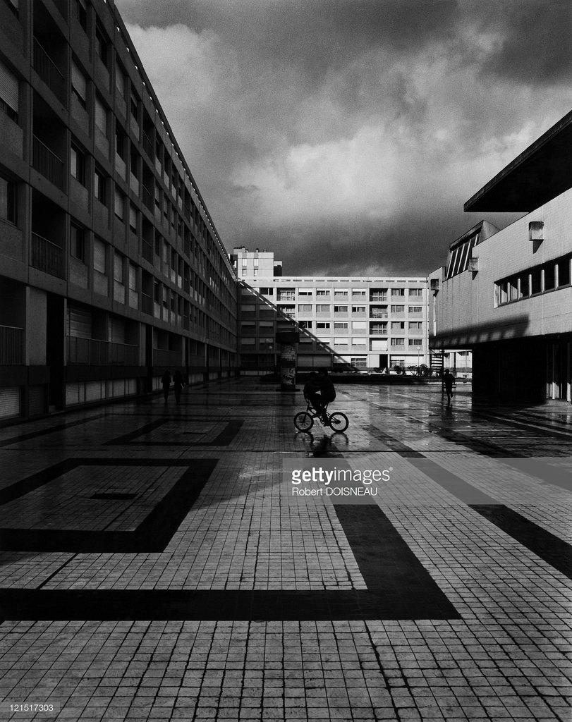 1984. Аржантёй. Площадь Сен-Жюст