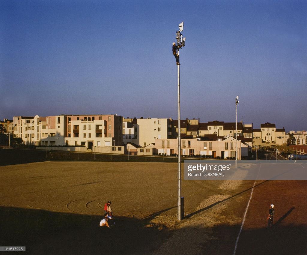 1984. Футбольное поле и муниципальные дома