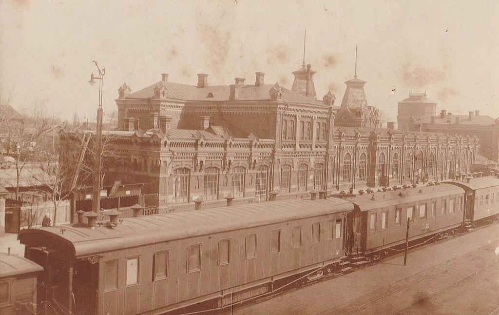 Перрон Виленского вокзала