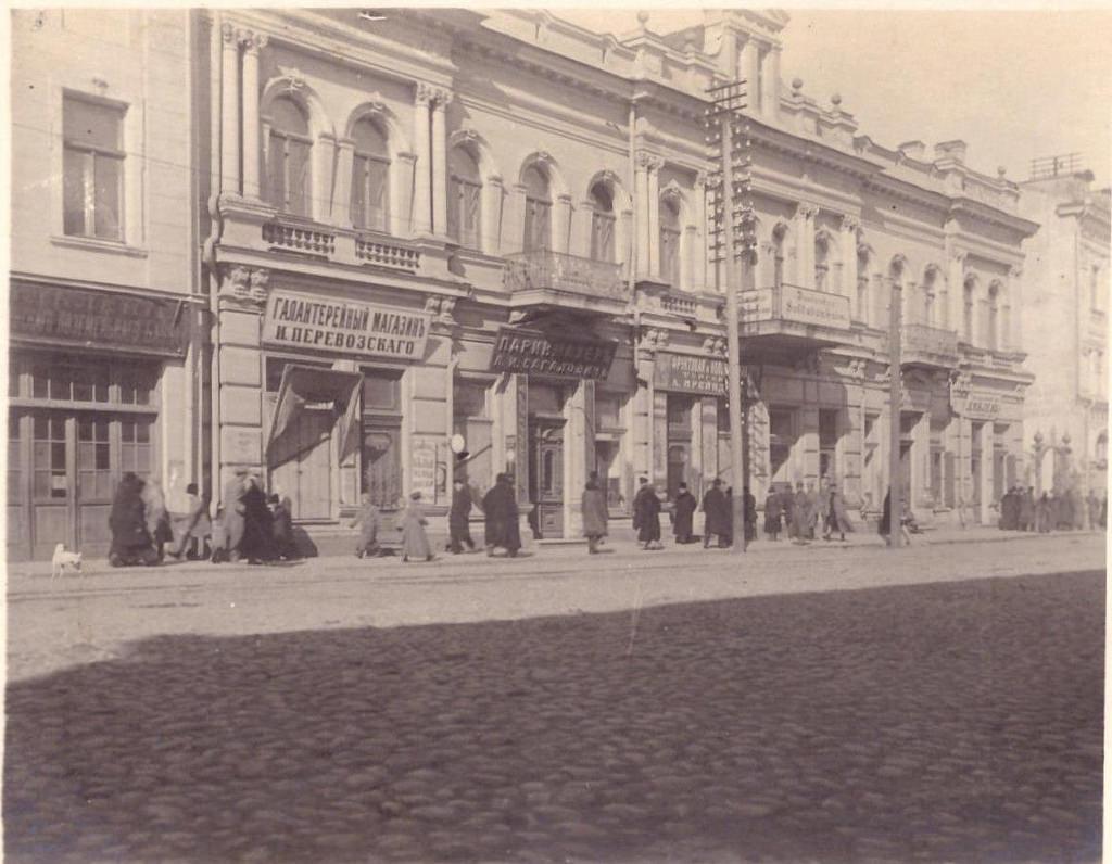Солдатский клуб и галантерейный магазин Перевозского